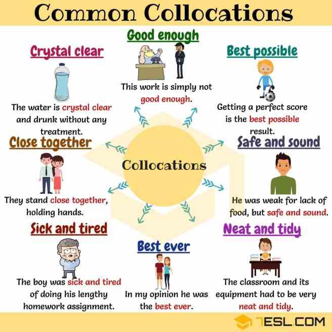 Common collocations 30 Nove