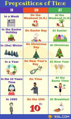 Prepositions of time_29th March